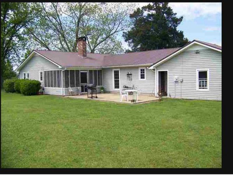 Home With 30 Acres : Hawkinsville : Pulaski County : Georgia