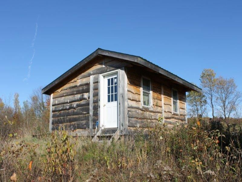 Outdoorsman's Cabin Near Forest : Florence : Oneida County : New York