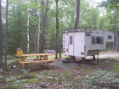 Rush Lake Access : Atlanta : Montmorency County : Michigan