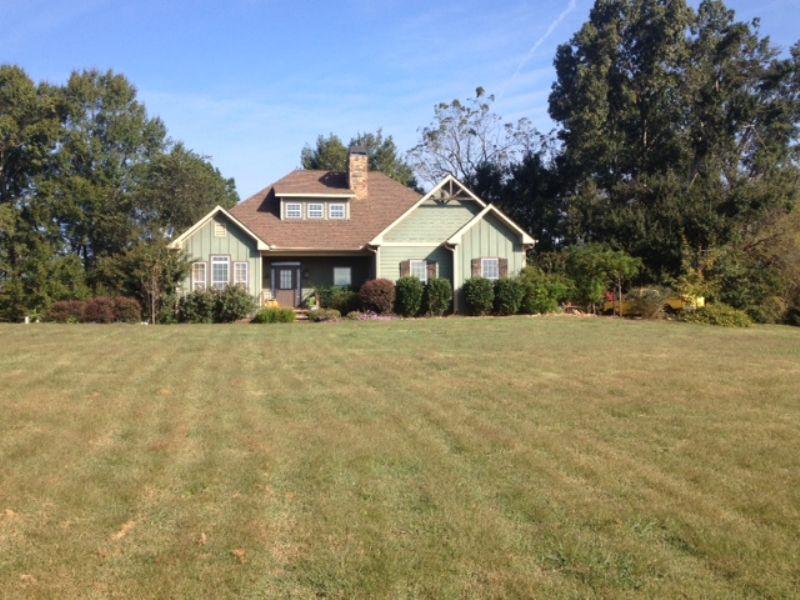 Nice Home On 12 Acres : Greensboro : Greene County : Georgia