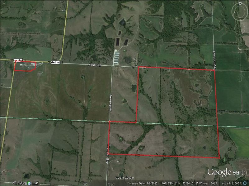 410 Acres And 4 Houses : Harris : Mercer County : Missouri