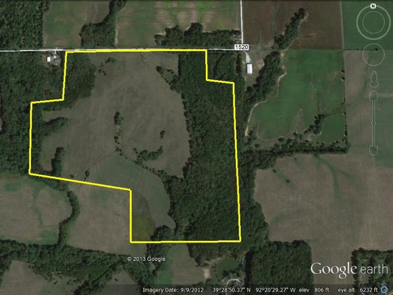 115.9 surveyed Acres : Moberly : Randolph County : Missouri