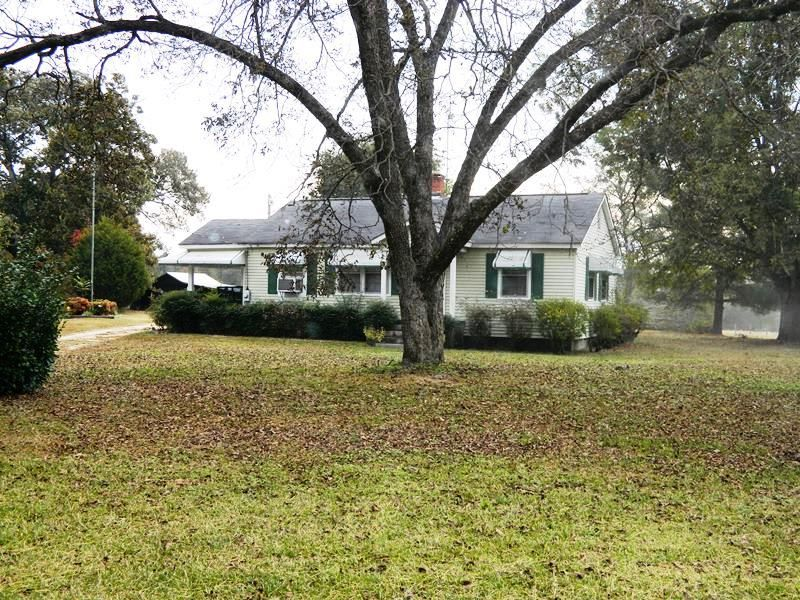 28.97 Ac With Pasture, Pond & Home : Carlton : Oglethorpe County : Georgia