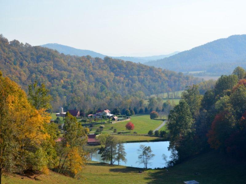 Rapidan Ranch : Madison : Madison County : Virginia
