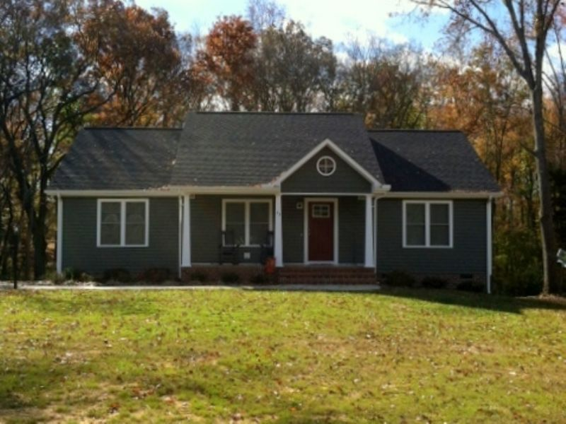 5 Acres W/ 1440 Sf New Home : Cartersville : Cumberland County : Virginia