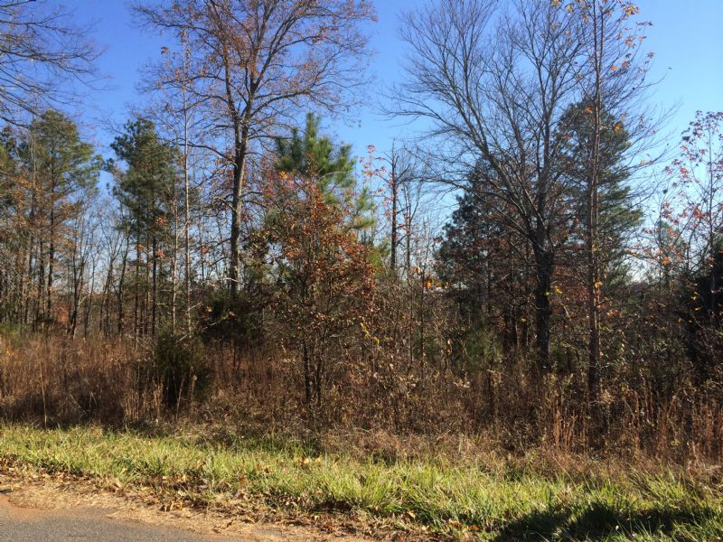 5.159 Ac. Wooded With Views : Adairsville : Bartow County : Georgia