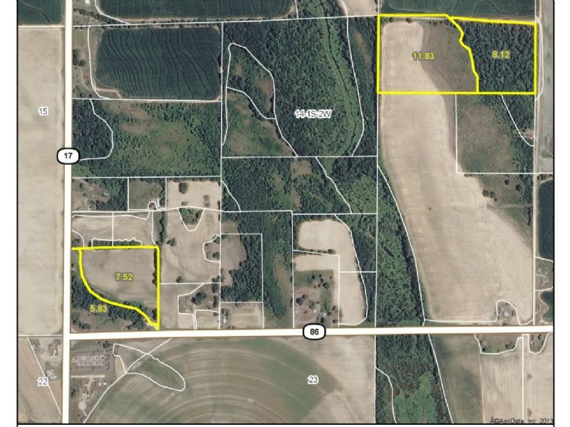 32.94 Acres For Sale : Holly Grove : Monroe County : Arkansas