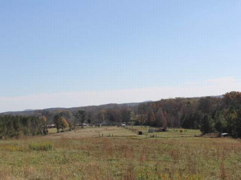 50.3+/- Acre Farm With 2 Homes : Ashland : Clay County : Alabama