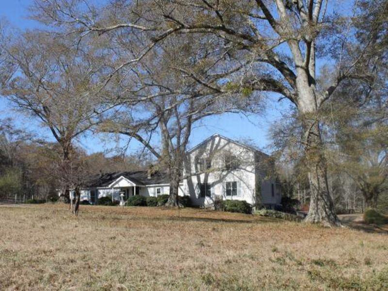 52+/- Acre Farm : Ashland : Clay County : Alabama