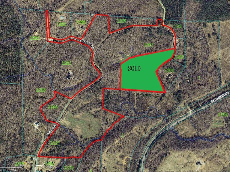 49 Acres - Creek - Partial Pond : Ragland : Saint Clair County : Alabama