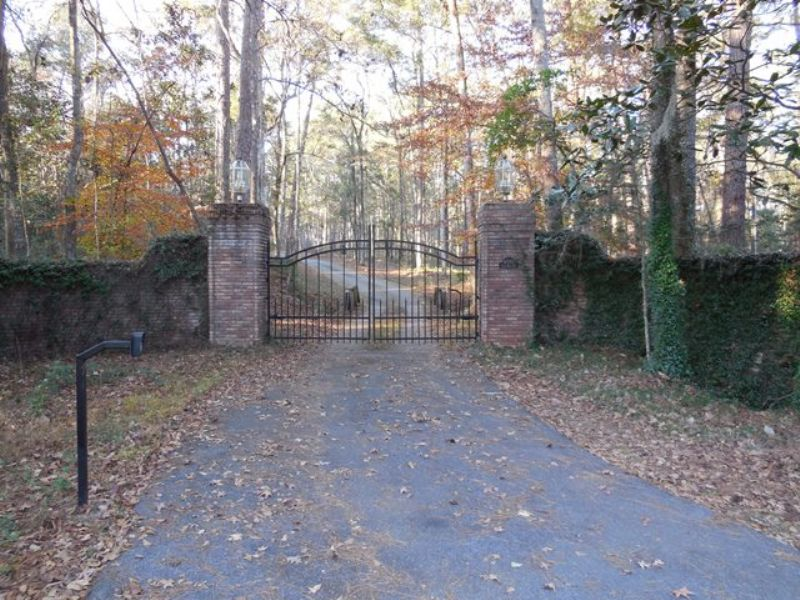 70+/- Acre Private Estate : Thomasville : Thomas County : Georgia