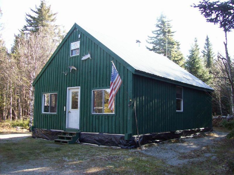 Coburn Mountain Cabin : Upper Enchanted : Somerset County : Maine