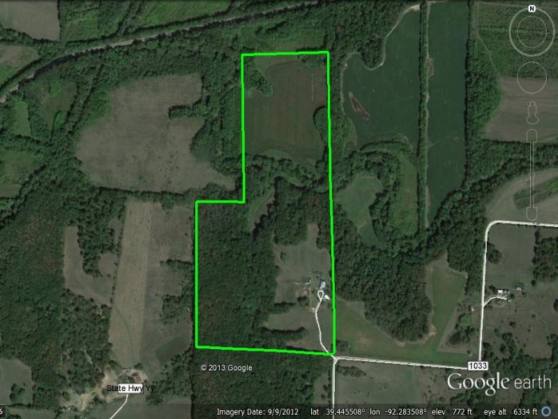 65 Acres : Madison : Monroe County : Missouri