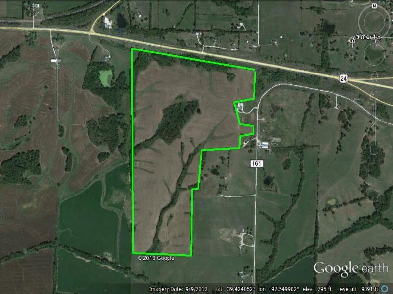 160 Acres : Huntsville : Randolph County : Missouri