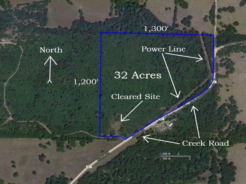 32 Acres For $500 Down : Hartville : Wright County : Missouri