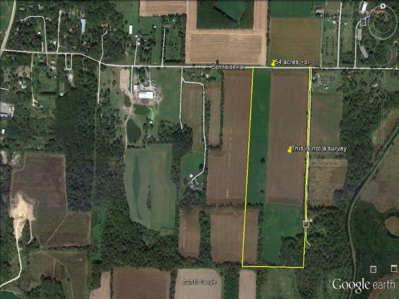 54 Acres Of Prime Ag Land : Oregon : Dane County : Wisconsin