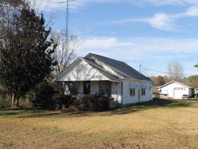 Farm With Home : Ashland : Clay County : Alabama