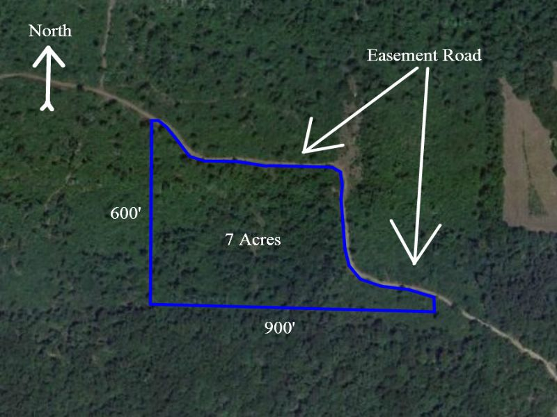 $500 Down - 7 Acres Hunting Land : Mountain Grove : Wright County : Missouri
