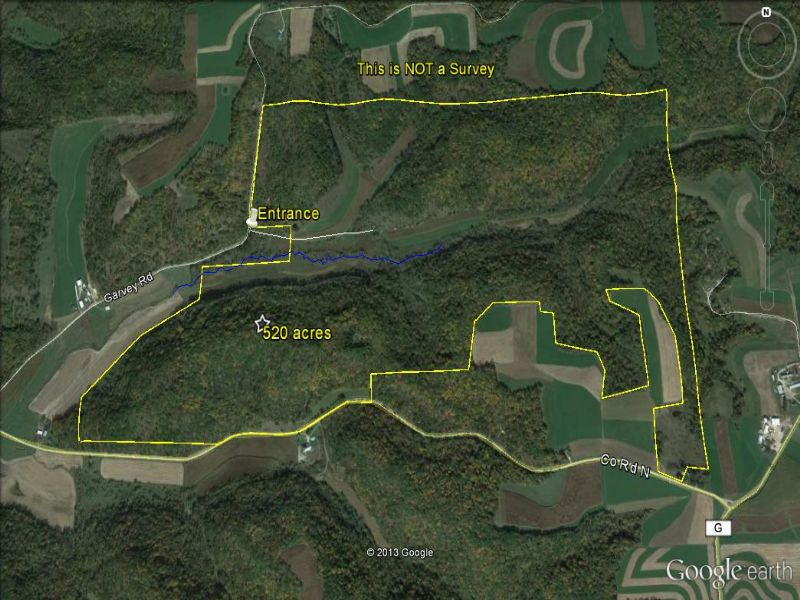 520 Acre Tract Close To Madison : Franklin : Sauk County : Wisconsin