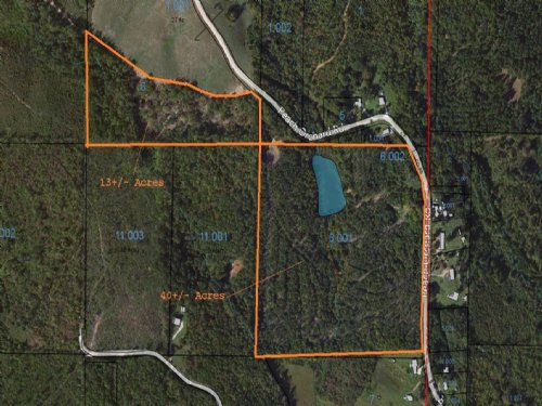 40+/- Acres With Lake : Ashland : Clay County : Alabama