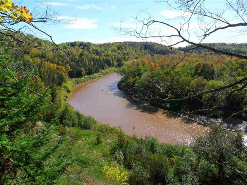 Tbd Ontonagan River/sucker Creek : Ontonagon : Ontonagon County : Michigan
