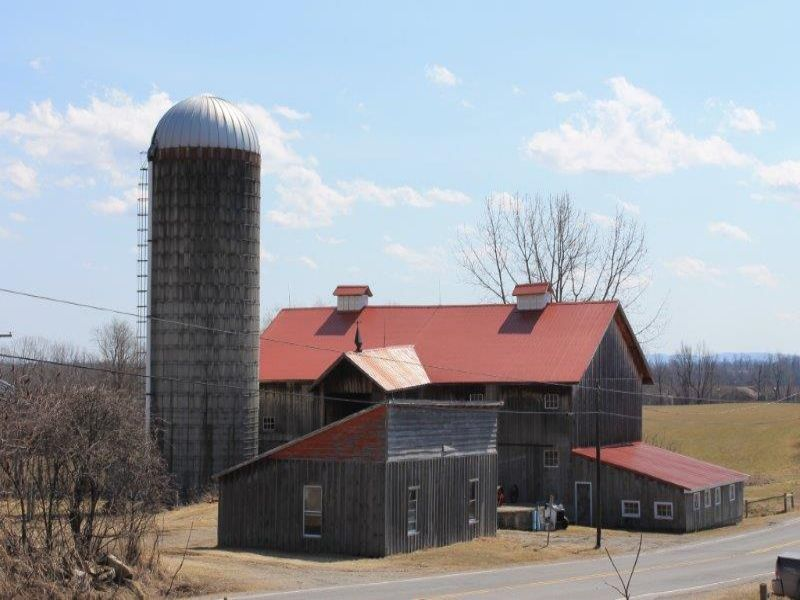 Restored Barn W/ Acreage And Views : Oppenheim : Fulton County : New York