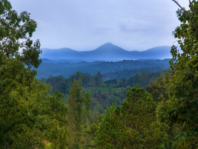 Talking Rock: Creek & Views : Talking Rock : Pickens County : Georgia