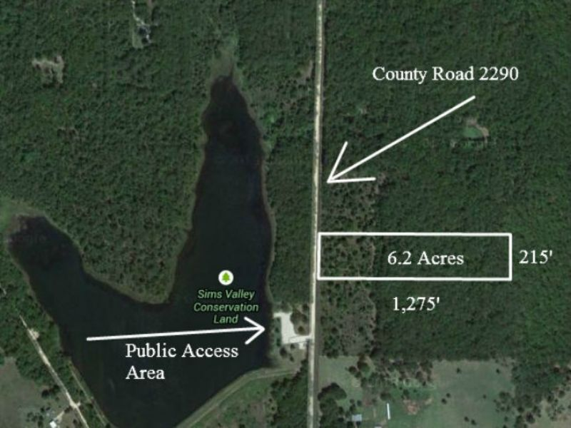 6 Acres At Lake For $500 Down : Mountain View : Howell County : Missouri