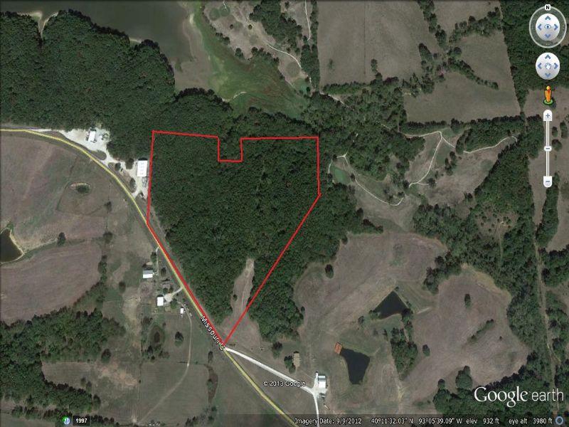 22 Acres Hunting Property : Milan : Sullivan County : Missouri