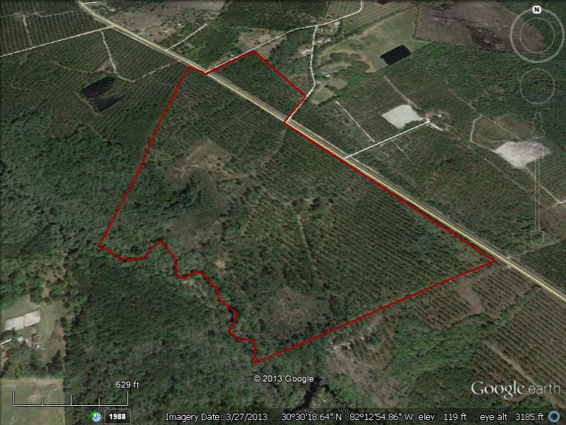 Small Rural Tracts Near Jax : Moniac : Charlton County : Georgia