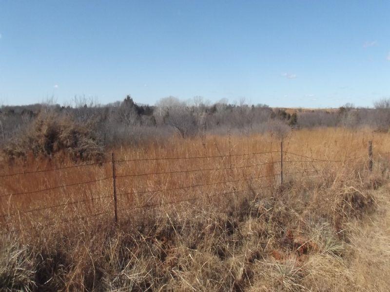 160± Acres ~ Hunting Land : Covington : Garfield County : Oklahoma