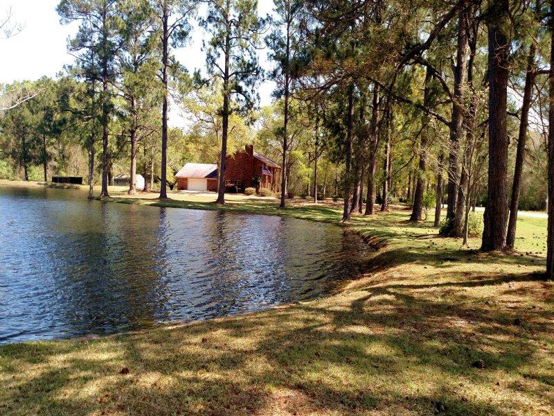 Old Tucker Farm : Claxton : Evans County : Georgia