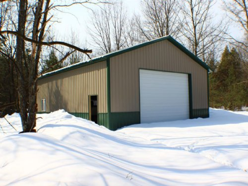 Hunting, Timber And Farm Acreage : Freesoil : Mason County : Michigan