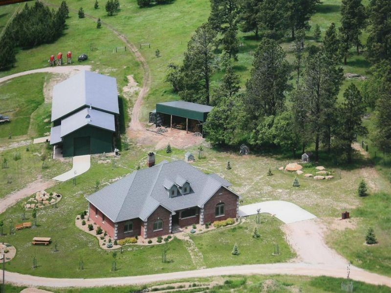 Piney Meadows Ranch : Sundance : Crook County : Wyoming