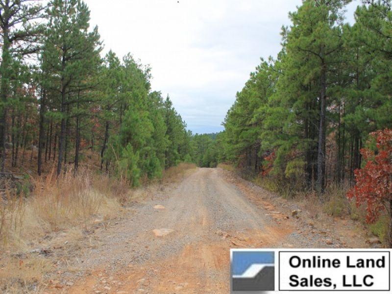 8.71 Acres Indian Ridge. Terms : Tuskahoma : Pittsburg County : Oklahoma
