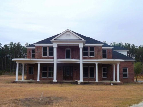 Home On 19+/- Acs Bank Owned : Brooklet : Bulloch County : Georgia