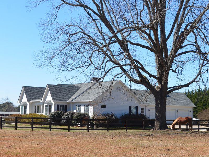 Horse Farm - 5ac, Barn, Ring : Social Circle : Walton County : Georgia