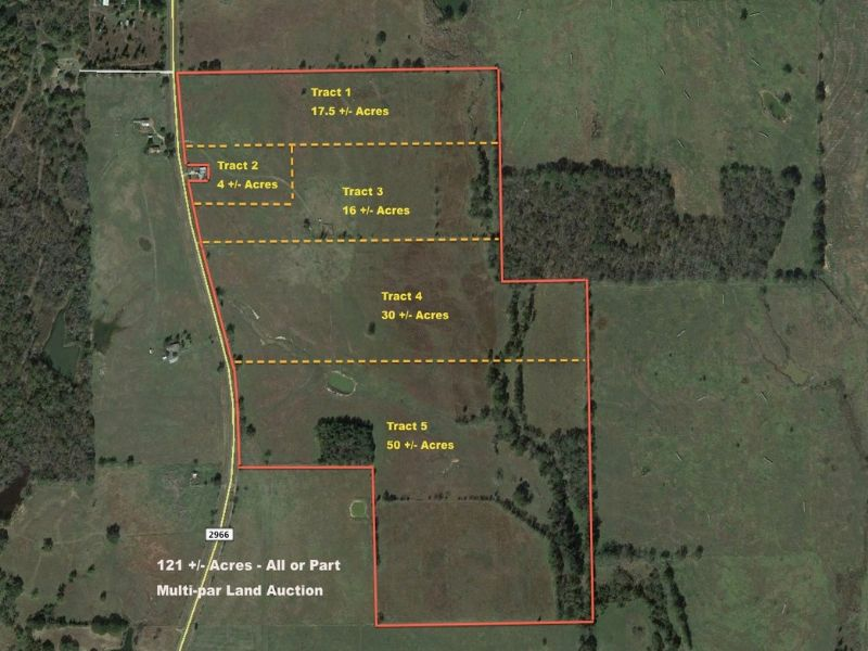 East Texas Ranchland Auction : Quitman : Wood County : Texas
