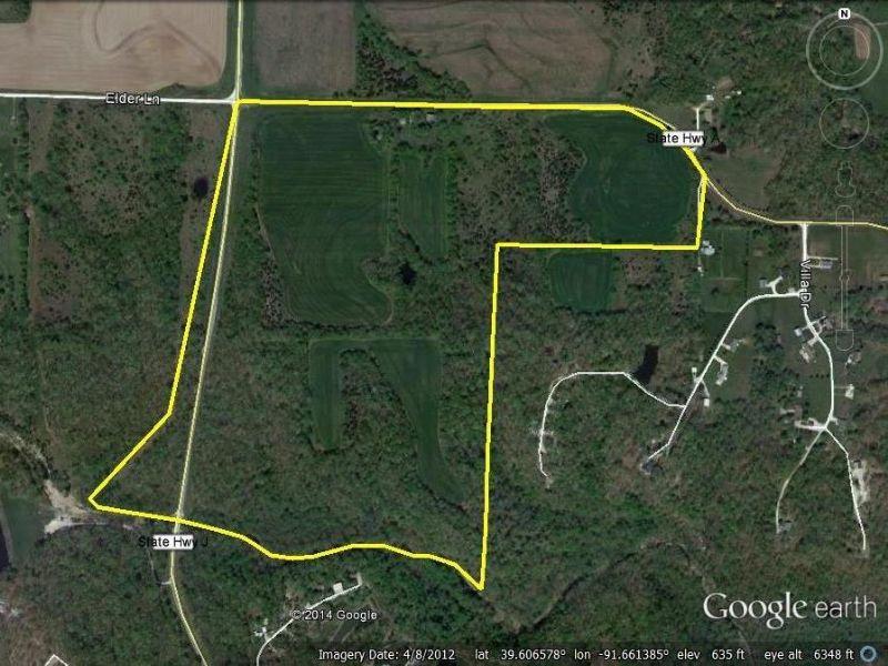 125 Acres : Monroe City : Ralls County : Missouri