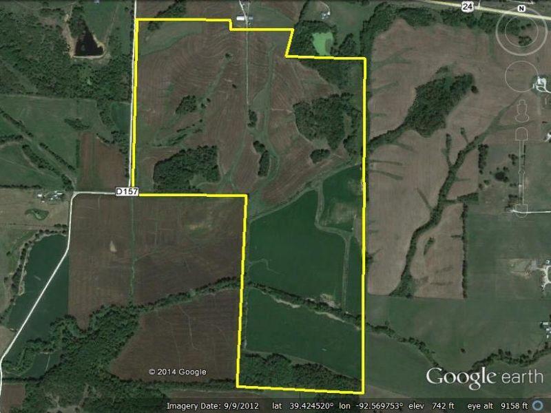 258 Acres : Huntsville : Randolph County : Missouri