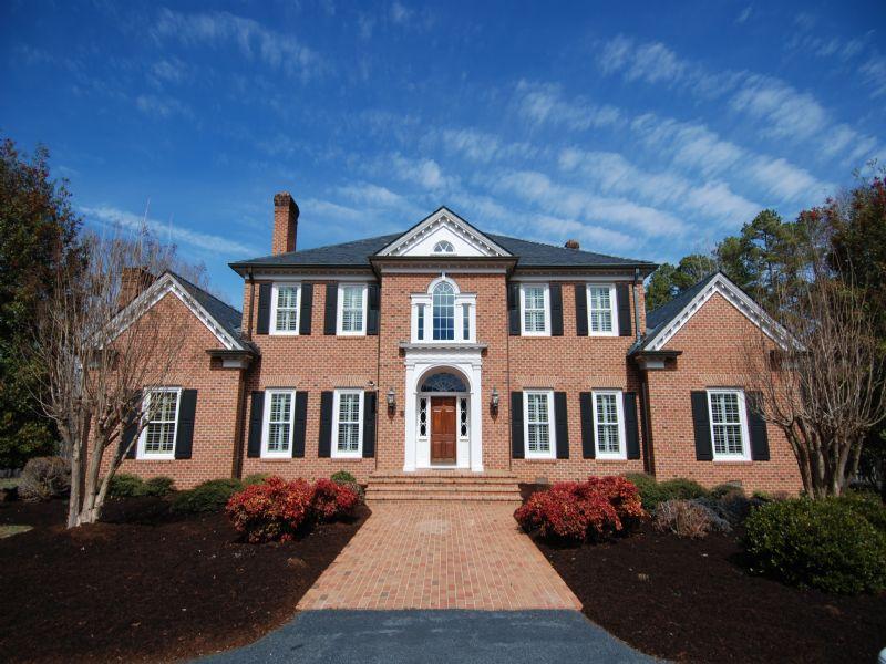 70 Acres W/ Custom Built Home : Asheboro : Randolph County : North Carolina