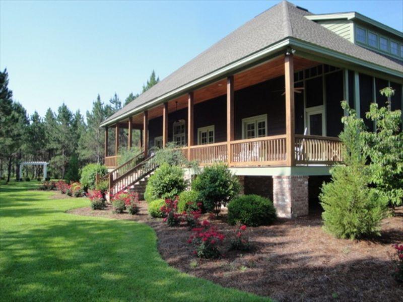 Outstanding Horse Farm, Custom Home : Abbeville : Wilcox County : Georgia