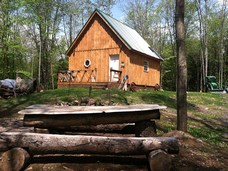 31 Acres With Sportsman's Cabin : Amboy : Oswego County : New York