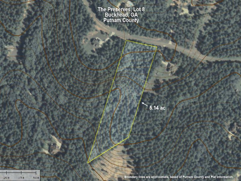 Private 5ac, Close To Lake Oconee : Buckhead : Putnam County : Georgia