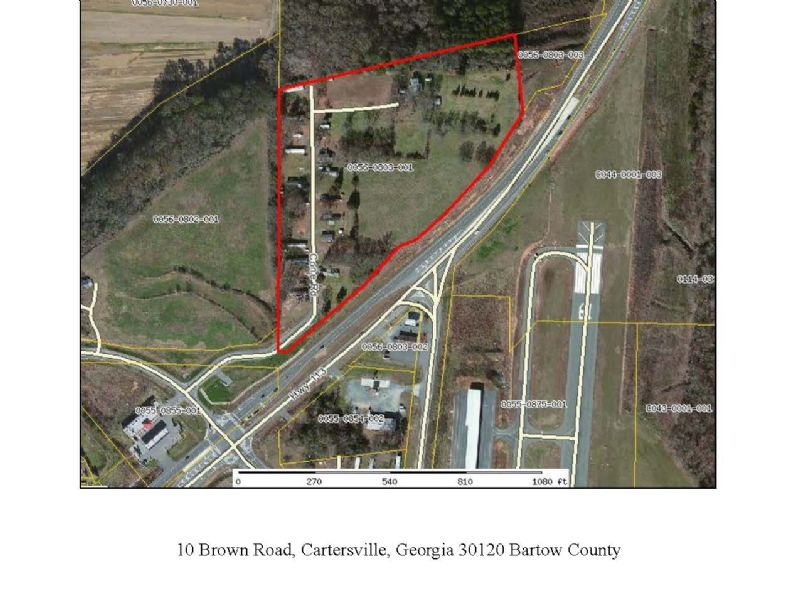 25 Pad Mobile Home Park : Cartersville : Bartow County : Georgia