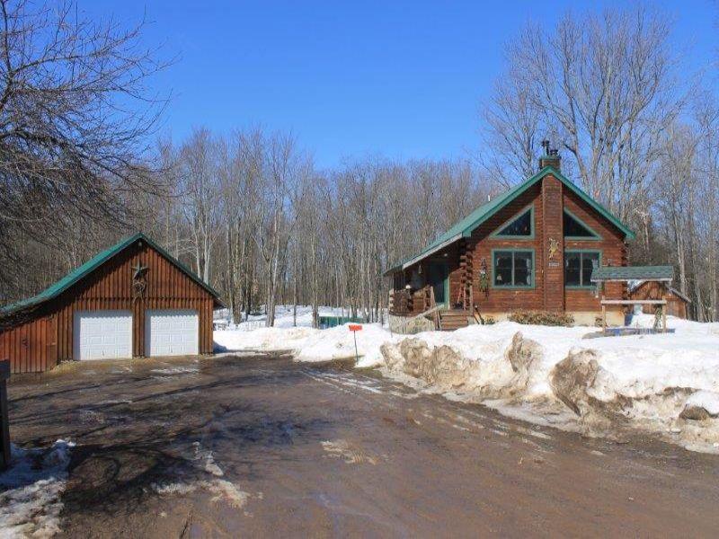 Tug Hill Log Home : Taberg : Oneida County : New York