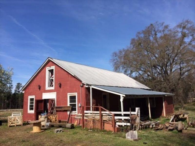 Perfect Horse Farm Or Home Site : Macon : Bibb County : Georgia