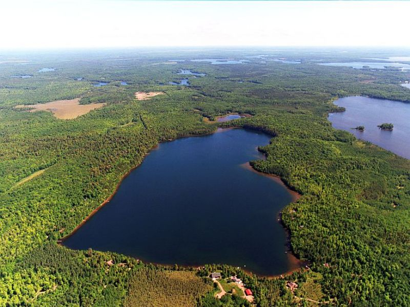 29 Acres On Clear Lake : Minocqua : Oneida County : Wisconsin