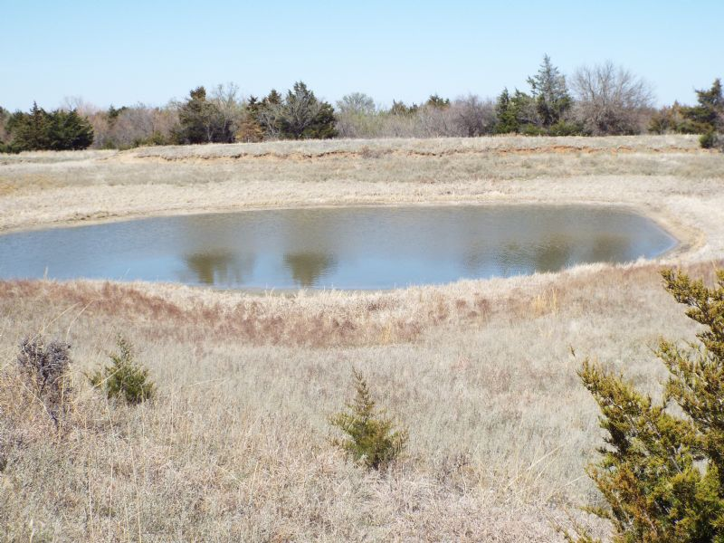 680 Acres- Hunting- Grass- Timber : Medford : Grant County : Oklahoma