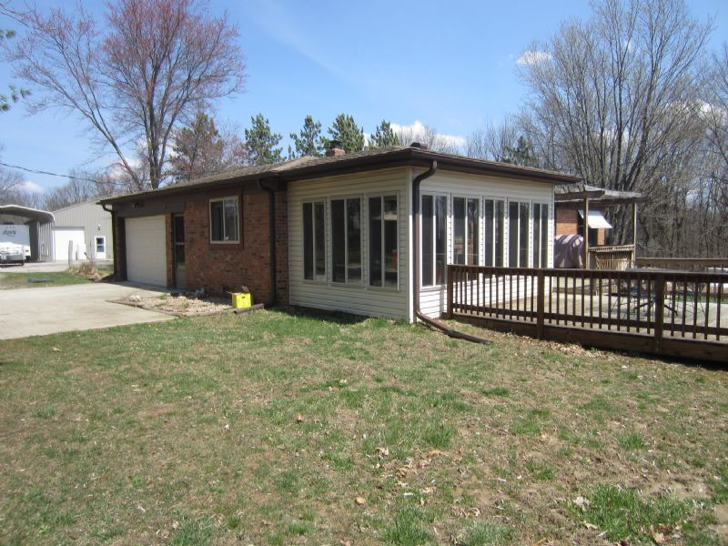 Internet-only Home And Land Auction : Spencer : Owen County : Indiana